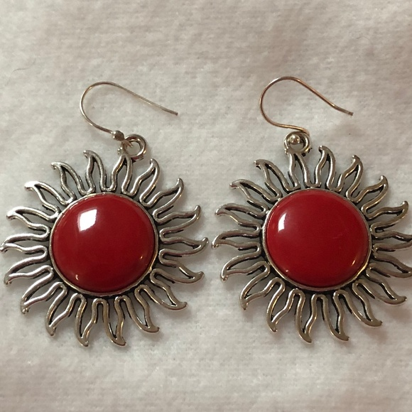 Jewelry - Red Coral Earrings